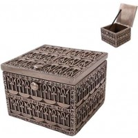 Ankh Bronze Resin Trinket Box