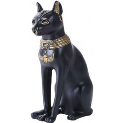 Bastet 8 Inch Egyptian Cat Statue Egyptian Marketplace  Egyptian Decor Statues, Jewelry & Art - God Statues & Museum Replicas