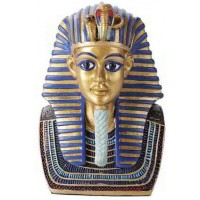 Golden Mask of King Tut Bust 5 Inch Statue