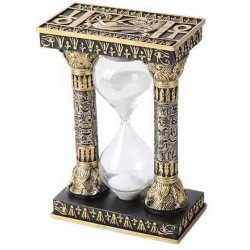 Egyptian Column Sand Timer Egyptian Marketplace  Egyptian Decor Statues, Jewelry & Art - God Statues & Museum Replicas