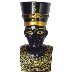 Nefertiti Bust Mini Egyptian Statue Egyptian Marketplace  Egyptian Decor Statues, Jewelry & Art - God Statues & Museum Replicas