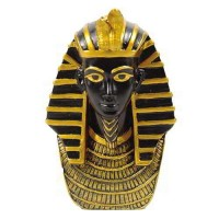 King Tut Bust Mini Egyptian Statue