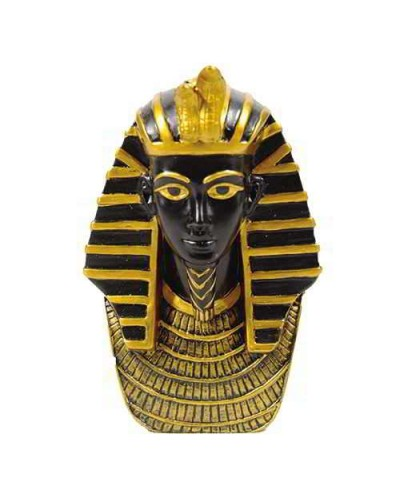 King Tut Bust Mini Egyptian Statue at Egyptian Marketplace,  Egyptian Decor Statues, Jewelry & Art - God Statues & Museum Replicas