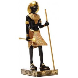 Egyptian King Tut Tomb Guardian Statue - 6.5 Inches Egyptian Marketplace  Egyptian Decor Statues, Jewelry & Art - God Statues & Museum Replicas