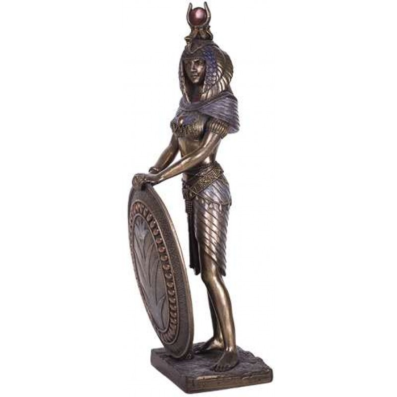 Isis egyptian warrior goddess 11 inch statue ancient egyptian gods - God and goddess statues ...