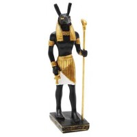 Seth Egyptian God of Chaos Mini Statue