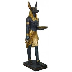 Anubis Egyptian Dog God Life Size 6 Feet Tall Statue