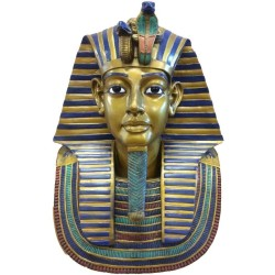 King Tut Bust 19 Inch Egyptian Pharaoh Statue Egyptian Marketplace  Egyptian Decor Statues, Jewelry & Art - God Statues & Museum Replicas