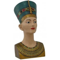 Nefertiti Egyptian Queen 18 Inch Bust Egyptian Marketplace  Egyptian Decor Statues, Jewelry & Art - God Statues & Museum Replicas