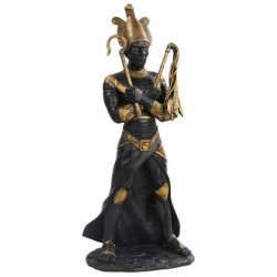 Osiris Egyptian God of the Underworld Black Resin Statue Egyptian Marketplace  Egyptian Decor Statues, Jewelry & Art - God Statues & Museum Replicas