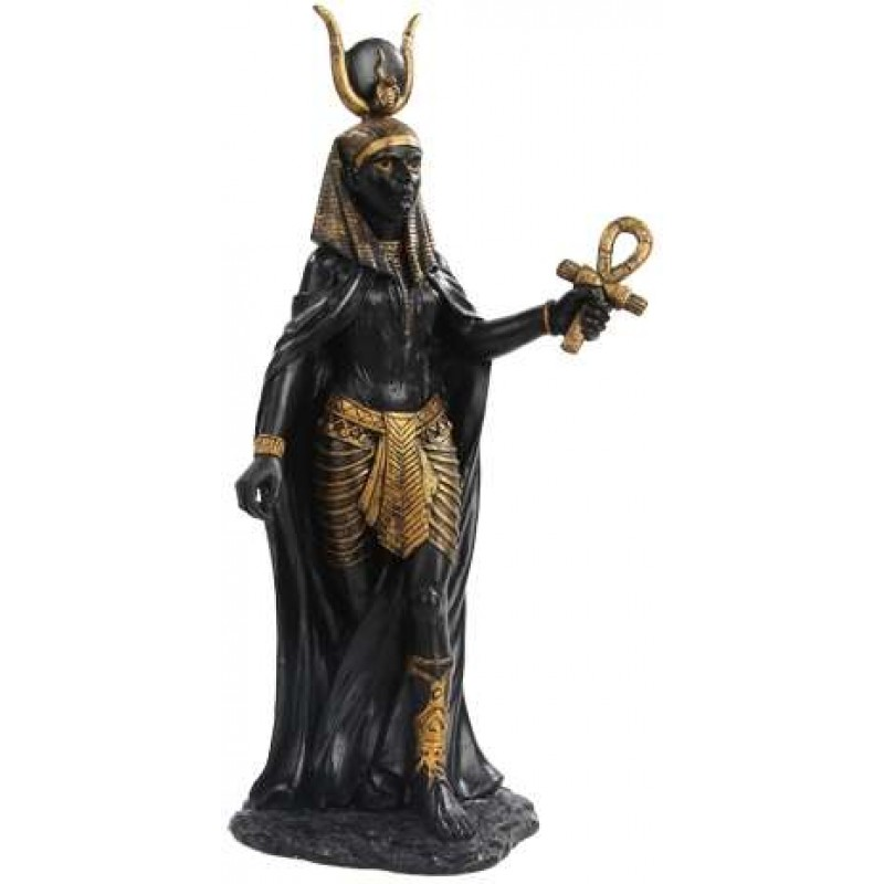 Hathor Egyptian Goddess Statue Isis