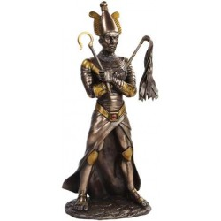 Osiris Egyptian God of the Underworld Bronze Resin Statue Egyptian Marketplace  Egyptian Decor Statues, Jewelry & Art - God Statues & Museum Replicas