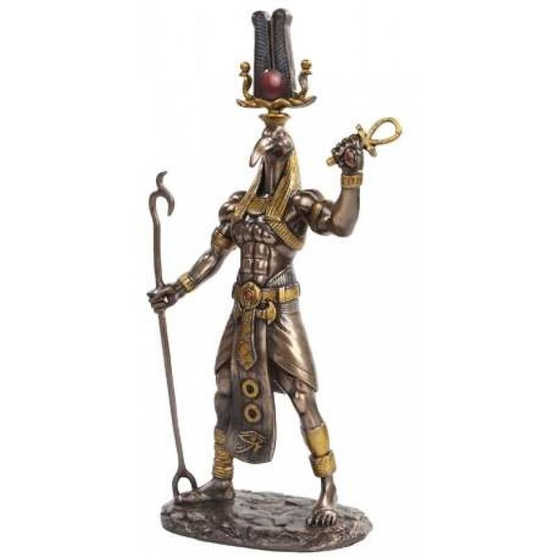 Ra egyptian god statue