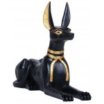 Anubis Egyptian God as Jackal Large Statue at Egyptian Marketplace,  Egyptian Decor Statues, Jewelry & Art - God Statues & Museum Replicas
