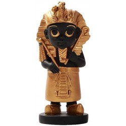 King Tut Little Egyptian Pharoah Statue Egyptian Marketplace  Egyptian Decor Statues, Jewelry & Art - God Statues & Museum Replicas