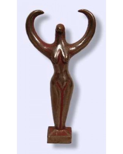 Nile Goddess Small Bronze Statue at Egyptian Marketplace,  Egyptian Decor Statues, Jewelry & Art - God Statues & Museum Replicas