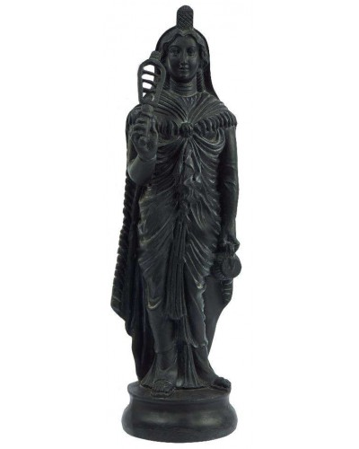 Greek Isis Holding Sistrum Statue at Egyptian Marketplace,  Egyptian Decor Statues, Jewelry & Art - God Statues & Museum Replicas