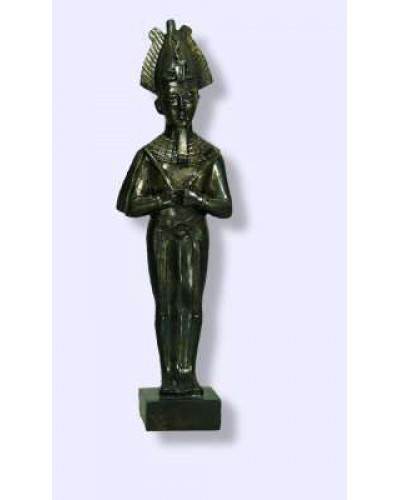Osiris Egyptian God Statue at Egyptian Marketplace,  Egyptian Decor Statues, Jewelry & Art - God Statues & Museum Replicas