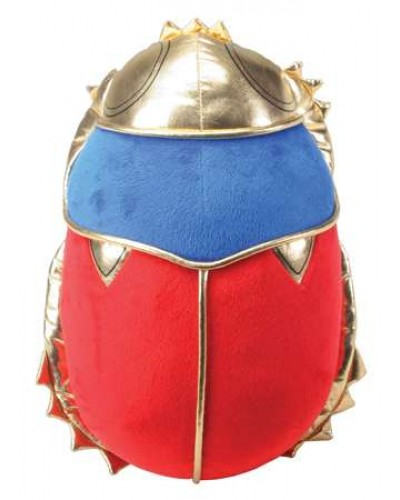 Scarab Plushie Pillow at Egyptian Marketplace,  Egyptian Decor Statues, Jewelry & Art - God Statues & Museum Replicas