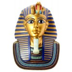 King Tuts Golden Mask Statue at Egyptian Marketplace,  Egyptian Decor Statues, Jewelry & Art - God Statues & Museum Replicas