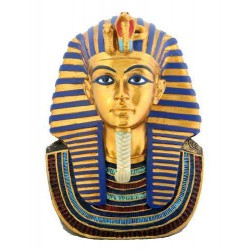 Small Mask of King Tut Statue Egyptian Marketplace  Egyptian Decor Statues, Jewelry & Art - God Statues & Museum Replicas