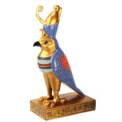 Horus Falcon Egyptian God Statue Egyptian Marketplace  Egyptian Decor Statues, Jewelry & Art - God Statues & Museum Replicas