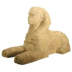 Giza Plateau Large Resin Sphinx Statue at Egyptian Marketplace,  Egyptian Decor Statues, Jewelry & Art - God Statues & Museum Replicas