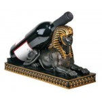 Sphinx Wine Bottle Holder at Egyptian Marketplace,  Egyptian Decor Statues, Jewelry & Art - God Statues & Museum Replicas
