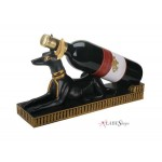 Anubis Egyptian Dog Wine Bottle Holder at Egyptian Marketplace,  Egyptian Decor Statues, Jewelry & Art - God Statues & Museum Replicas