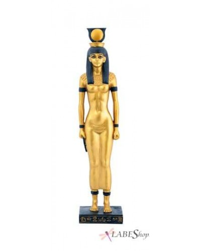 Hathor Egyptian Mother Goddess Statue at Egyptian Marketplace,  Egyptian Decor Statues, Jewelry & Art - God Statues & Museum Replicas