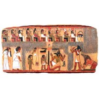The Scales of Judgment Egyptian Plaque