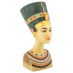 Nefertiti Egyptian Queen Medium Bust at Egyptian Marketplace,  Egyptian Decor Statues, Jewelry & Art - God Statues & Museum Replicas