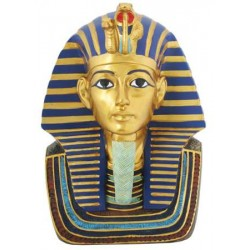Golden Mask of King Tut Bust 9 Inch Statue Egyptian Marketplace  Egyptian Decor Statues, Jewelry & Art - God Statues & Museum Replicas