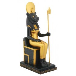 Sekhmet Egyptian Lion Headed Goddess Statue Egyptian Marketplace  Egyptian Decor Statues, Jewelry & Art - God Statues & Museum Replicas