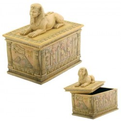 Sphinx Egyptian Trinket Box Egyptian Marketplace  Egyptian Decor Statues, Jewelry & Art - God Statues & Museum Replicas