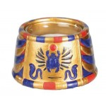 Scarab Egyptian Votive Candle Holder at Egyptian Marketplace,  Egyptian Decor Statues, Jewelry & Art - God Statues & Museum Replicas