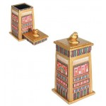 Horus Falcon Column Box at Egyptian Marketplace,  Egyptian Decor Statues, Jewelry & Art - God Statues & Museum Replicas