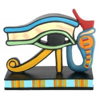 Wedjat Eye of Horus Mini Statue