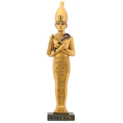 Shawabty Egyptian Statue with White Crown Egyptian Marketplace  Egyptian Decor Statues, Jewelry & Art - God Statues & Museum Replicas
