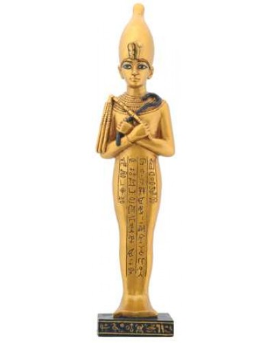 Shawabty Egyptian Statue with White Crown at Egyptian Marketplace,  Egyptian Decor Statues, Jewelry & Art - God Statues & Museum Replicas