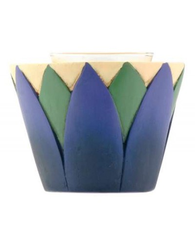 Lotus Votive Candle Holder at Egyptian Marketplace,  Egyptian Decor Statues, Jewelry & Art - God Statues & Museum Replicas