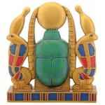 Khepri Cobra Sun Plaque at Egyptian Marketplace,  Egyptian Decor Statues, Jewelry & Art - God Statues & Museum Replicas