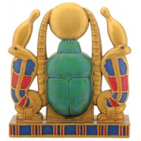 Khepri Cobra Sun Plaque