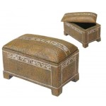 Egyptian Stone Chest at Egyptian Marketplace,  Egyptian Decor Statues, Jewelry & Art - God Statues & Museum Replicas