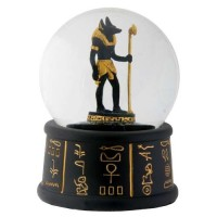 Anubis Egyptian Water Globe