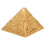 Golded Lighted Small Pyramid at Egyptian Marketplace,  Egyptian Decor Statues, Jewelry & Art - God Statues & Museum Replicas