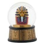 King Tut Water Globe at Egyptian Marketplace,  Egyptian Decor Statues, Jewelry & Art - God Statues & Museum Replicas