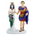 Cleopatra with Marc Anthony Statue at Egyptian Marketplace,  Egyptian Decor Statues, Jewelry & Art - God Statues & Museum Replicas