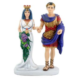 Cleopatra with Marc Anthony Statue Egyptian Marketplace  Egyptian Decor Statues, Jewelry & Art - God Statues & Museum Replicas