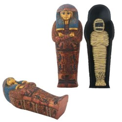 Sarcophagus of Maatkara with Mummy Box Egyptian Marketplace  Egyptian Decor Statues, Jewelry & Art - God Statues & Museum Replicas